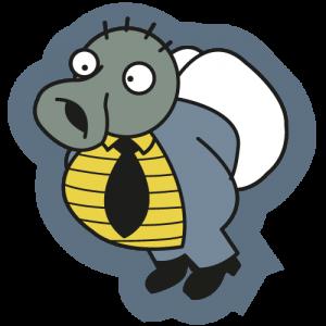 Logo mosca AdictosAlTrabajo