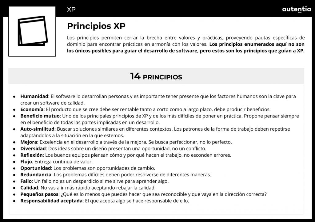Extreme programming-4-Principios