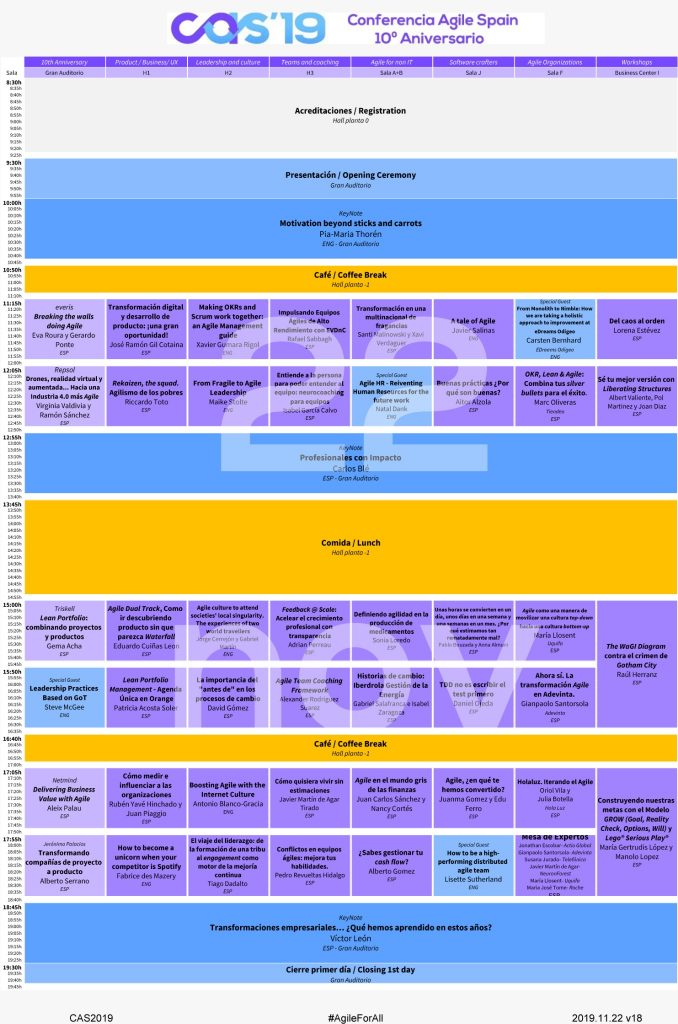 CAS Programa