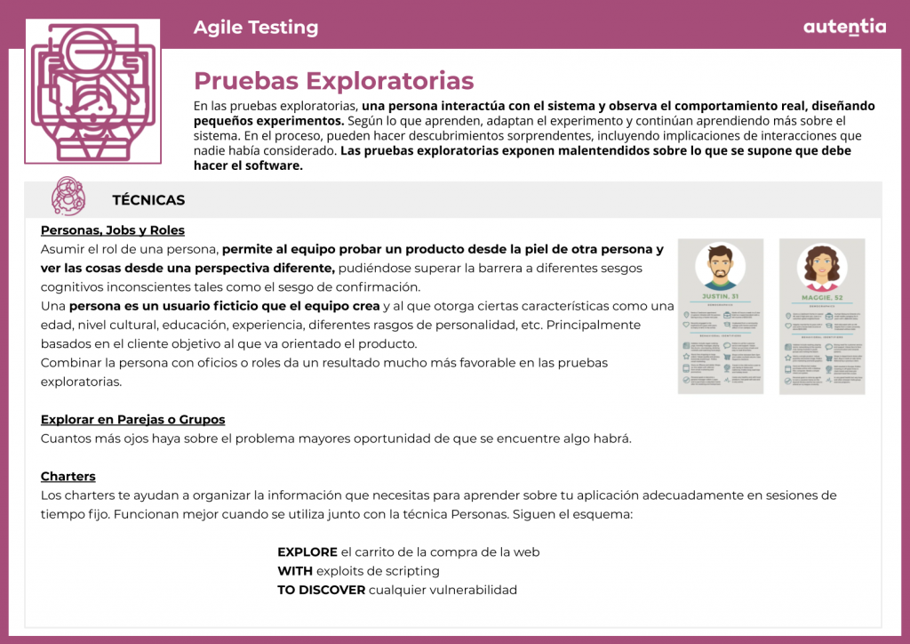 Agile testing: Ficha 6