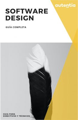 portada guía abstracta, se ve una pluma de ave