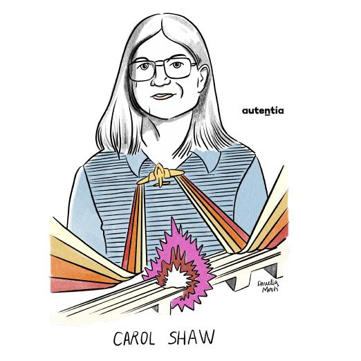 Ilustración de Carol Shaw por Daniella Martí