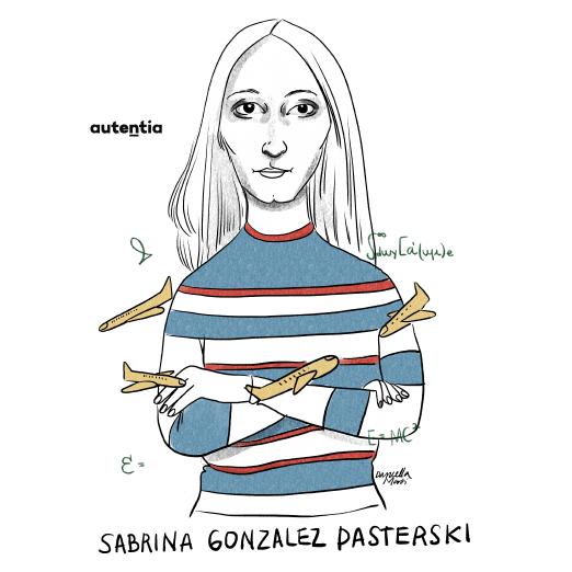 Ilustración de Sabrina González por Daniella Martí